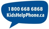 Kids Help Phone is Canada's only national 24-hour, bilingual and anonymous phone counselling, web counselling and referral service for children and youth.
