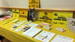 Contact our office to get rural crime watch signs for your yard or office.